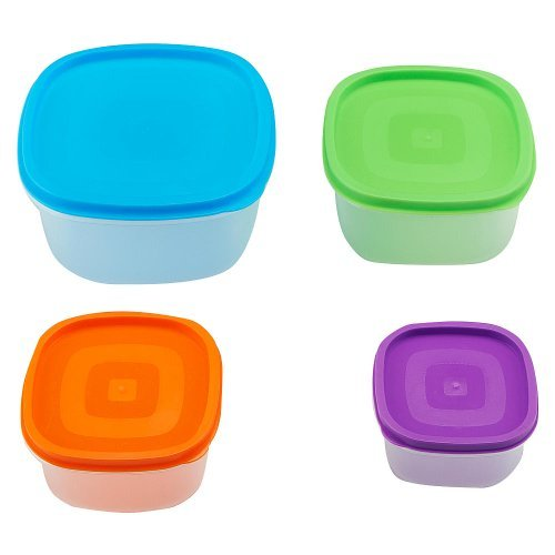 Babies R Us Rainbow Food Storage Set - 4-Pack - 1
