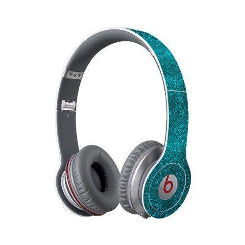 Beats Solo Full Headphone Wrap In Sparkling Turquoise (Headphones Not Included)