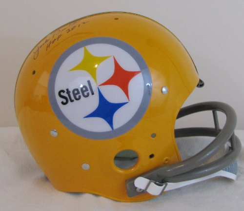 Jack Butler TK Full Size Suspension Helmet - Pittsburgh Steelers Hall of Fame Class of 2012