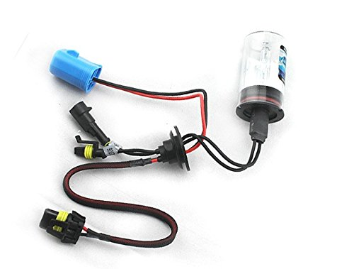 LUO 9004-H/L Dual Beam 10000K Xenon HID Lights Bulb lamp For Car Single Beam Replacement Headlight 35W 4x6 square high low beam led headlight reflector sealed beam replacement with drl for peterbil kenworth freightinger ford probe