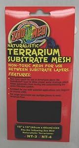 Zoo Med Laboratories Terrarium Substrate Mesh 18 x 18 Inch