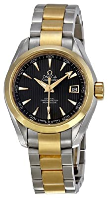 Omega Women's 231.20.30.20.06.002 Seamaster Aqua Terra Teak Grey Dial Watch from Omega