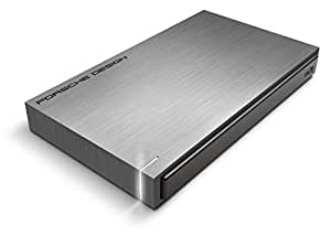 "LaCie 302000 Porsche Design Mobile Drive P'9220 Disque dur externe portable 2,5"" USB3.0 / USB2.0 1 To"