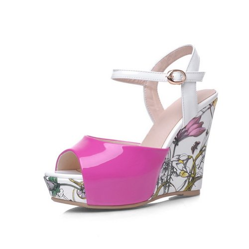 Funky Wedge Sandals front-998933