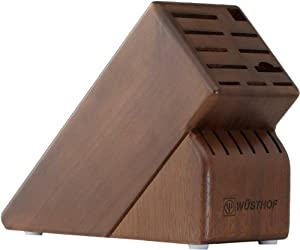 Wusthof 17 Slot Storage Block, Walnut