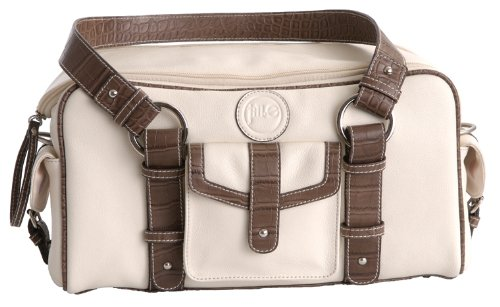 Jill-e Bag 14x7x8 Small Leather Camera Bag - Bone