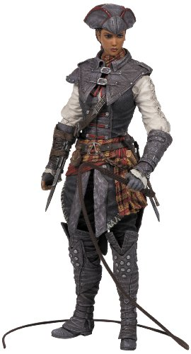 McFarlane Toys Assassin's Creed Series 2 Aveline De Grandpre' Action Figure - 1