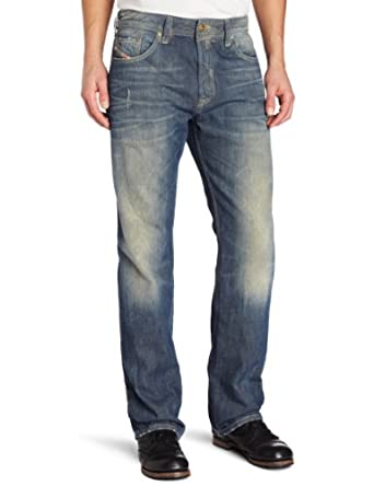 Diesel Men's Larkee Relaxed Straight Leg Jean 0805U, Denim, 29x32