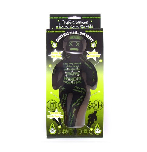 Glow In The Dark Voodoo Doll - Traffic Warden Picture