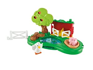 Fisher-Price Little People Farm Pond and Pig Pen Playset