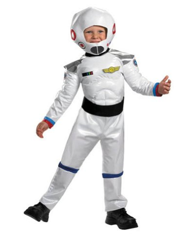 Blast Off Astronaut Toddler Costume 3T-4T - Toddler Halloween Costume