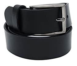 Walletsnbags Novapull Trouser Leather Belt (B5_Black_34)