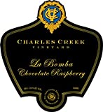 Charles Creek Vineyard La Bomba Chocolate Raspberry Dessert Wine NV (1 500ml bottle)