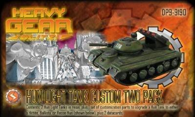 Heavy Gear: South Hun Light Tank Two Pack