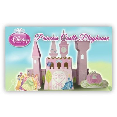 Disney Princess Castle Cardboard Playhouse