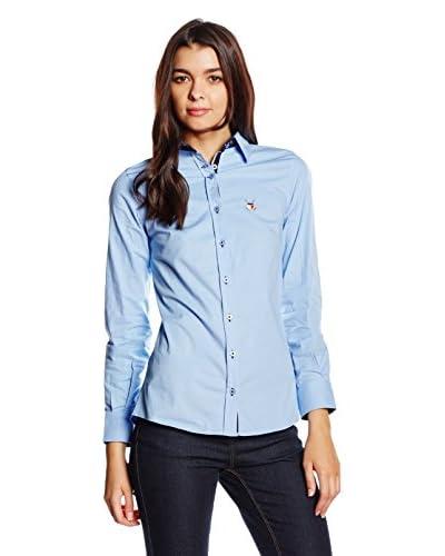 Polo Club Camicia Donna Maitino [Celeste]