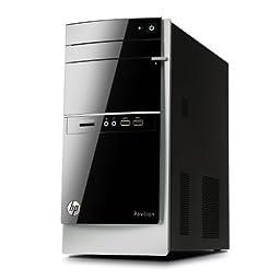 HP Pavilion 500-217c Desktop Computer, AMD A8-6500, 8GB Memory, 1TB Hard Drive
