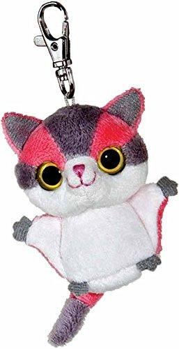 3-pink-grey-yoohoo-friends-shooga-sugar-glider-mini-key-clip-by-yoo-hoo