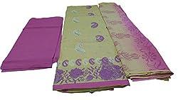 Alankar textiles Begie Cotton Dress Material