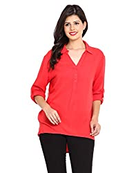 NVL Coral Coloured Rayon Blouse X-Large
