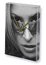 ANASTACIA - Canvas Clock (LARGE A3 - Signed by the Artist) #js001