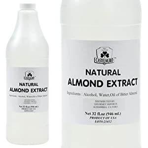 Natural Bitter Almond Extract - 1 bottle - 32 fl oz