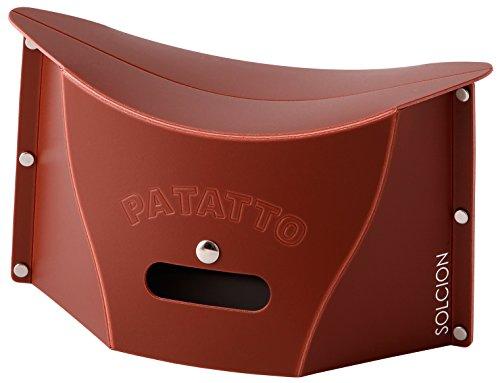 SOLCION 折りたたみ椅子 パタット ミニ PATATTO mini ブラウン PM005