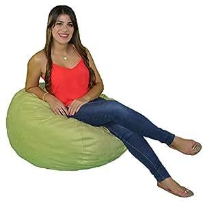 kids bean bag chair premium cozy foam filled cozy bean bag kitchen dining. Black Bedroom Furniture Sets. Home Design Ideas