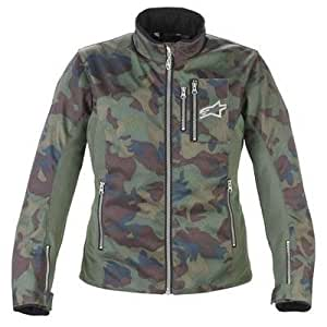 Alpinestars Stella Rebel Air Flo Textile Jacket, Camo, Gender: Womens, Size: Md, Apparel Material: Leather 331238-69-M