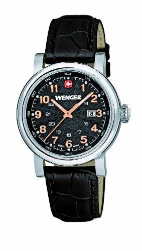 Wenger 011021105 - Reloj de pulsera mujer, color negro
