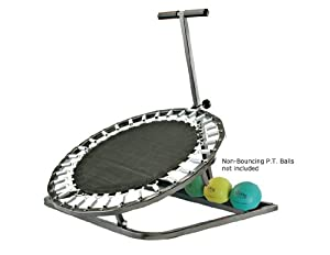 """Aeromat Medicine Ball / Physical Therapy Ball Rebounder, 28"""" rebound area (Black) - BALLS NOT INCLUDED!"""
