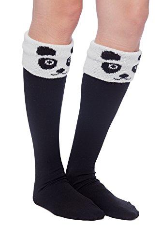 Womens-Long-Boot-Cuff-Socks