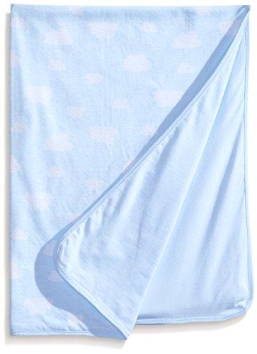 Rosie Pope Baby-Boys Newborn Boys Cloud Printed Receiving Blanket - 1