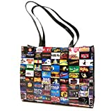 2013 Broadway Shows Poly Tote Bag, All Broadway Shows Featured (Black)