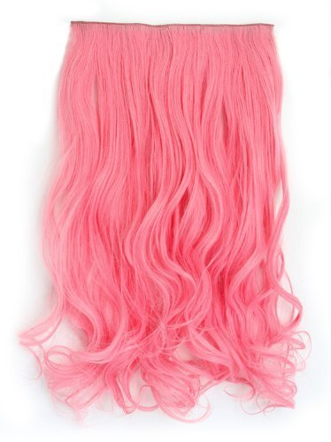 l-email-women-clips-in-hair-extensions-weft-wave-synthetic-heat-resistant-hairpiece-pj21-apink-by-yi