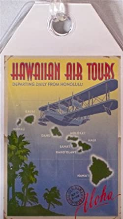 Durable Luggage Tag Hawaiian Air Tours
