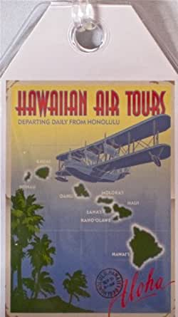 Durable Luggage Tag Hawaiian Air Tours