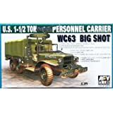 AFV Club Models 1/35 WC-63, Dodge G-507, 1 1/2 ton, 6x6 Cargo Truck