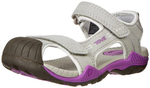 Teva Toachi 2 Y Water Shoe (Little Kid/Big Kid),Grey/Purple,3 M Us Little Kid front-1061204