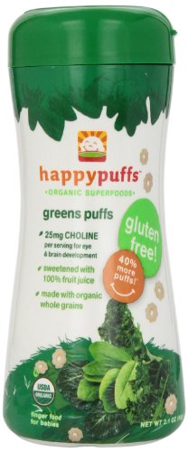 Happy Family Puffs - Green - 2.1 oz - 1