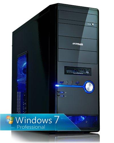 Ankermann-PC OVERCLOCK Edition – AMD FX-4350 4x 4.2 GHz Turbo: 4.30GHz – Sapphire Radeon R9 280 3072 MB – 8 GB DDR3 RAM – 2000 GB Festplatte – Graveur-DVD – Windows 7 Professional 64 Bit – Card Reader – EAN 4260219655149
