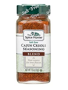 The Spice Hunter Cajun Creole Seasoning Blend, 1.9-Ounce Jar
