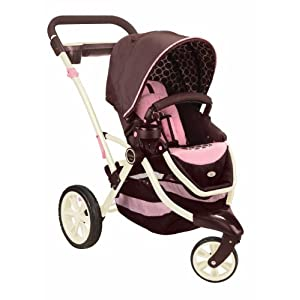 Contours Options 3-Wheel Stroller, Blush 	$99.99