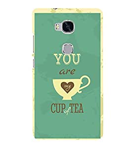Love Quote 3D Hard Polycarbonate Designer Back Case Cover for Huawei Honor 5X :: Huawei Honor X5 :: Huawei Honor GR5