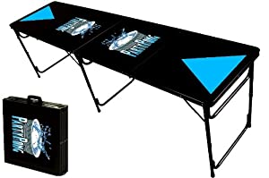 8-Foot Professional Beer Pong Table - Party Pong Logo
