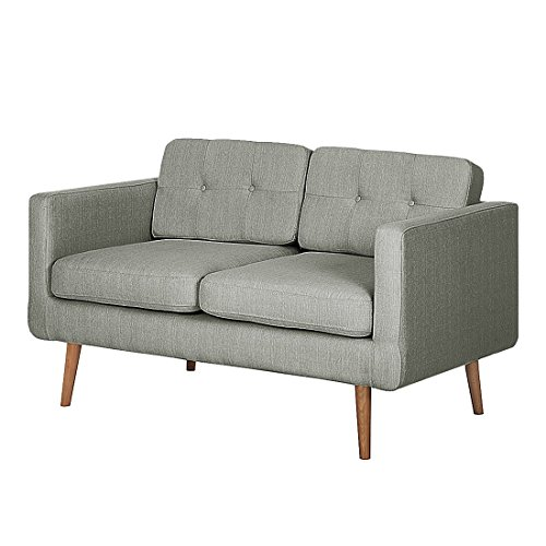 Mørteens 2-Sitzer Grau Textil