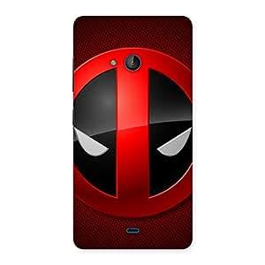Ajay Enterprises Dead Eye Round Reder Back Case Cover for Lumia 540