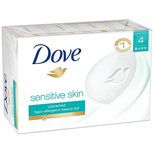 Dove Beauty Bar, Sensitive Skin 4 oz, 4 Bar (Dove Beauty Bar Sensitive Skin compare prices)