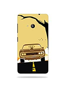 alDivo Premium Quality Printed Mobile Back Cover For Nokia Lumia 535 / Nokia Lumia 535 Back Case Cover (MKD182)