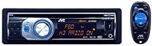JVC KD-HDR60 USB/CD Receiver with HD Radio Tuner and iTunes Tagging